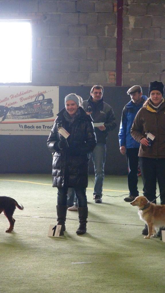 1. Platz LK 1 Medium - Isabelle Eisenschenk mit Luna