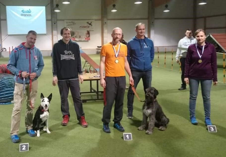 Tageswertung LK 1 Large - 3. Platz Christina mit Kira