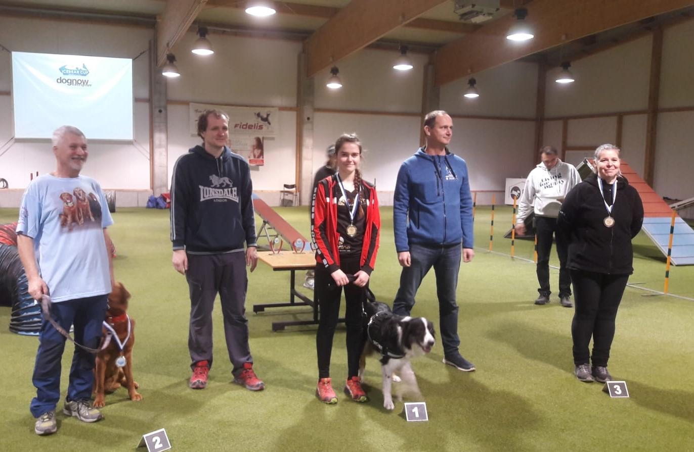 Tageswertung LK 3 Large - 1. Platz Lisa-Marie mit Buddy