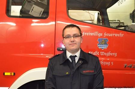Lingen, Stephan - Unterbrandmeister und stv. Atemschutzgerätewart