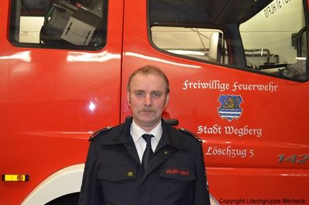 Dohmen, Willi - Brandinspektor und Zugführer des Zug 5 und Gerätewart