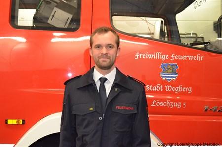 Stockfleth, Martin - Unterbrandmeister und  stv. Gerätewart
