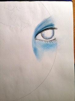 Seelenbild malen-Step1