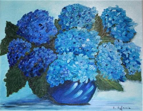 """""""Ortensie in blu"""""""