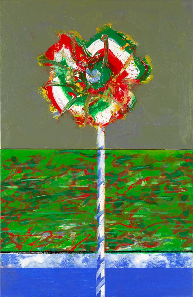 La cible - 2013 - Acrylique sur toile 100x65 cm