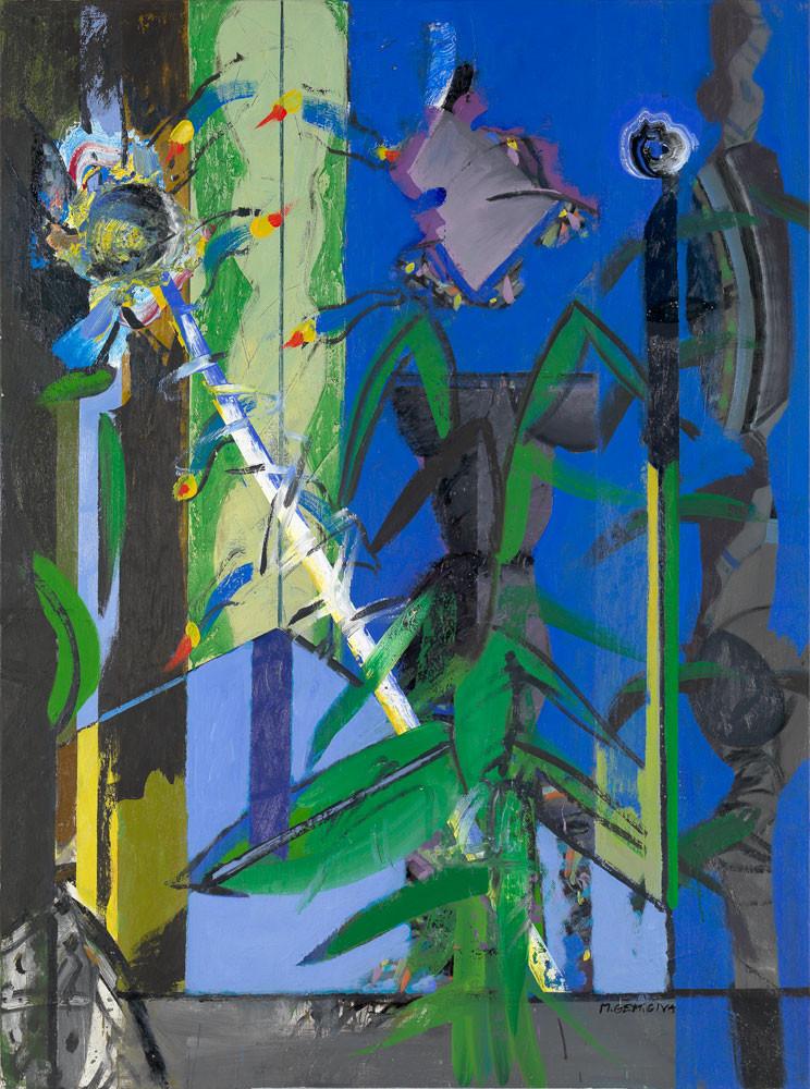 Nocturne - 2012 - Acrylique sur toile / 132x97 cm