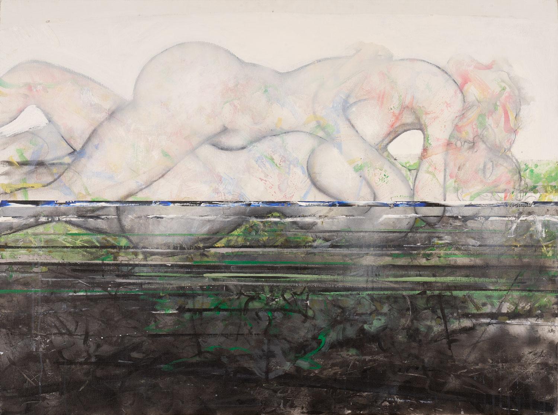 Emergence - 2018 - Acrylique sur toile 97x130