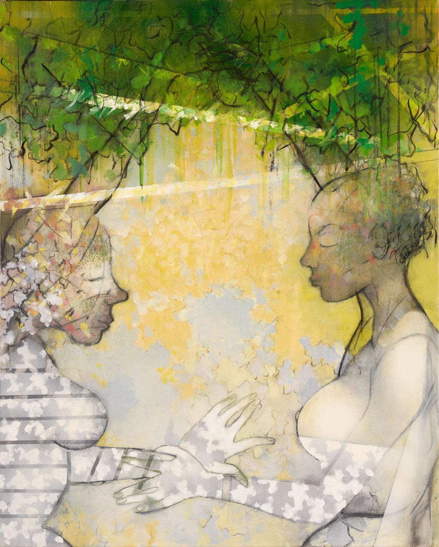 Arborescence - 2019 - Acrylique sur toile 100x81