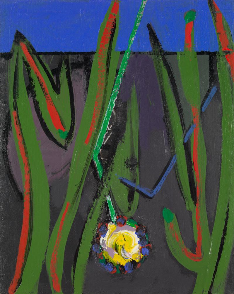 L'intruse - 2013 - Acrylique sur toile / 41x33 cm