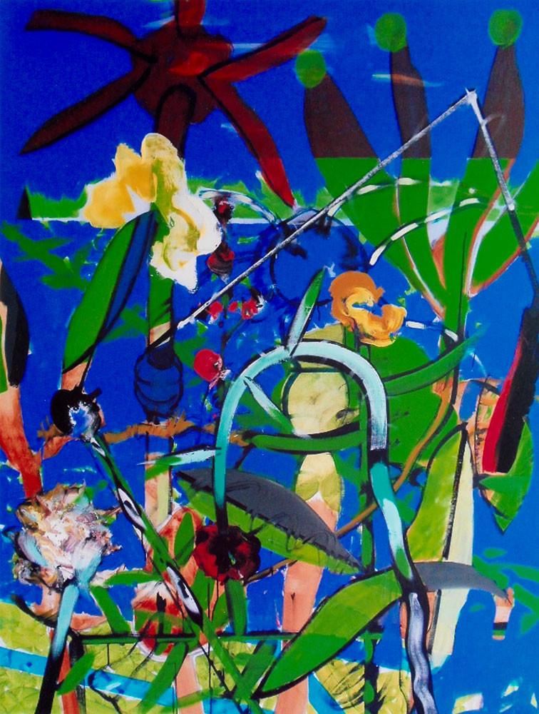 L'inventaire Prévert - 2013 - Acrylique sur toile / 162x130 cm