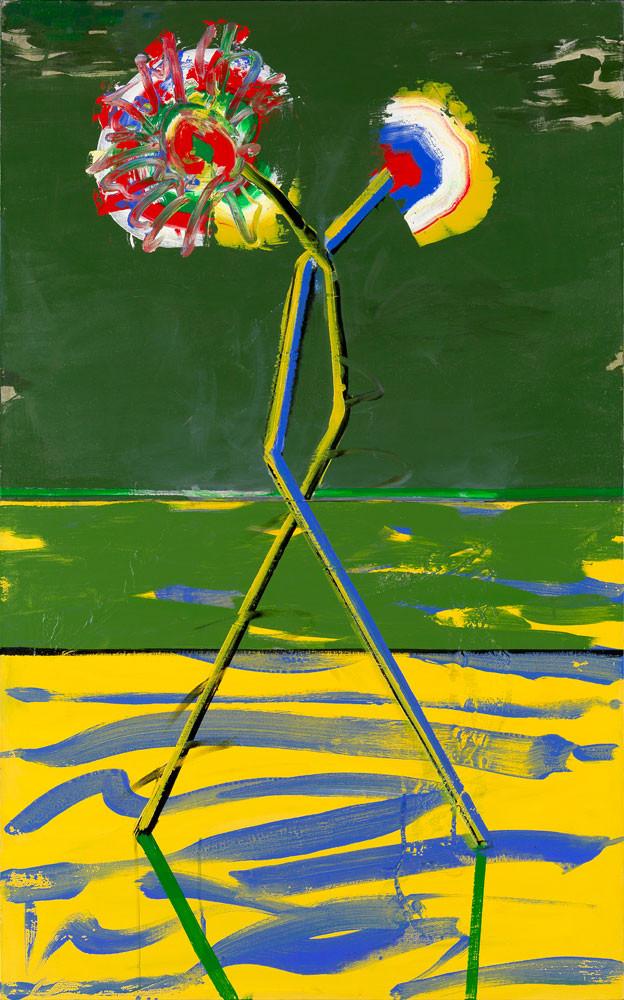 Ceux de Verone - 2013 - Acrylique sur toile / 131x82 cm