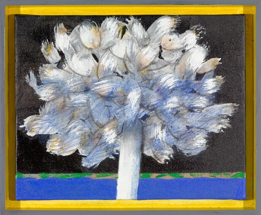 L'extravertie - 2012 - Acrylique sur toile / 33x41 cm
