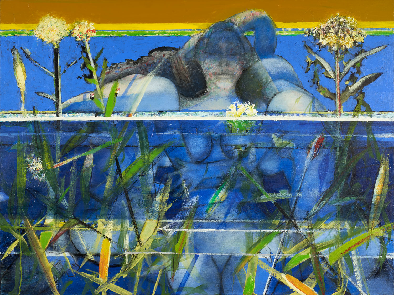Nuitamantes - 2018 - Acrylique sur toile 97x130