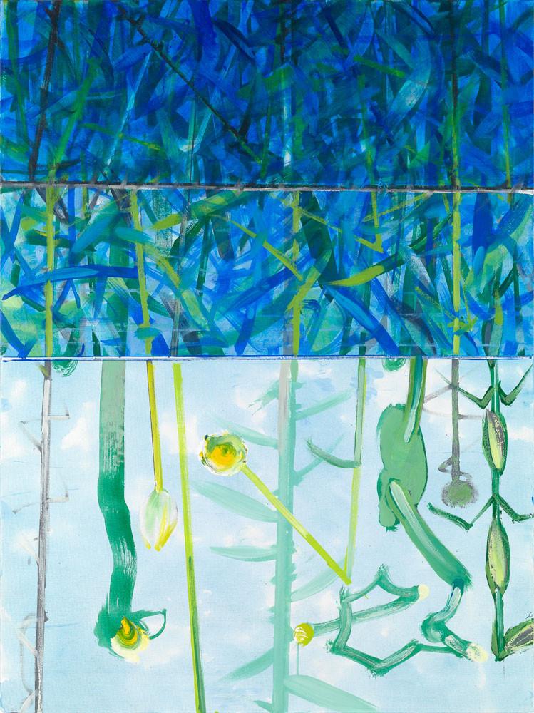 A l'envers - 2013 - Acrylique sur toile / 132x97 cm
