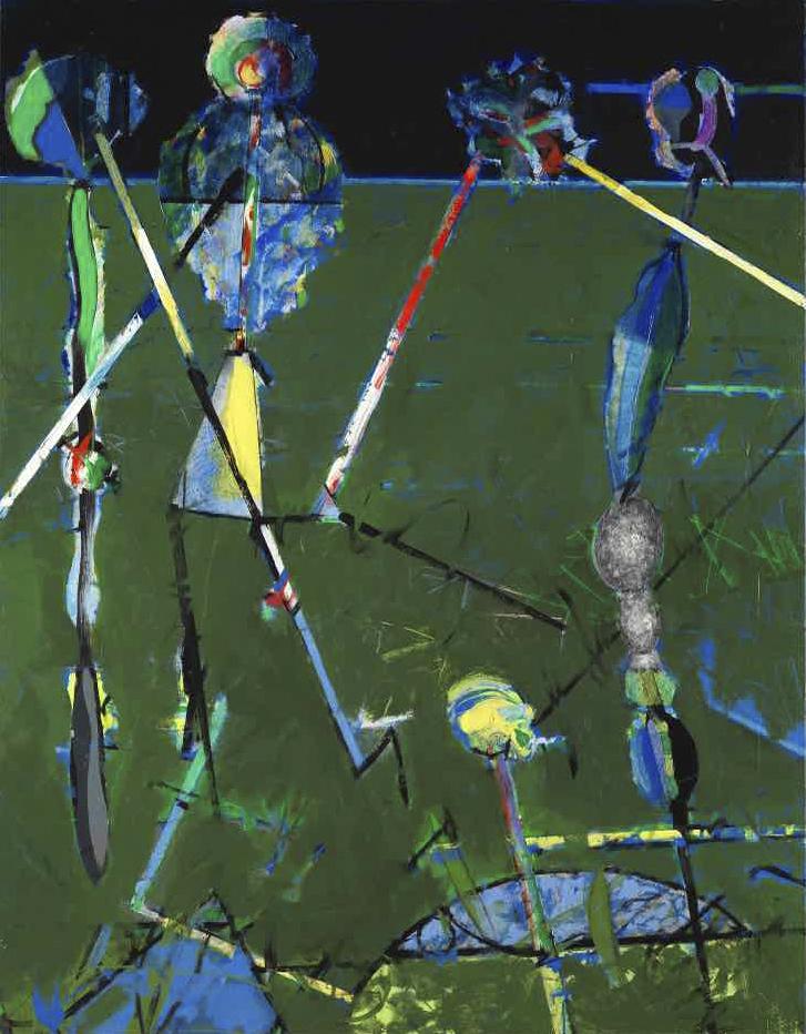 Quatuor à cordes - Acryl sur toile - 146x114 - 2015
