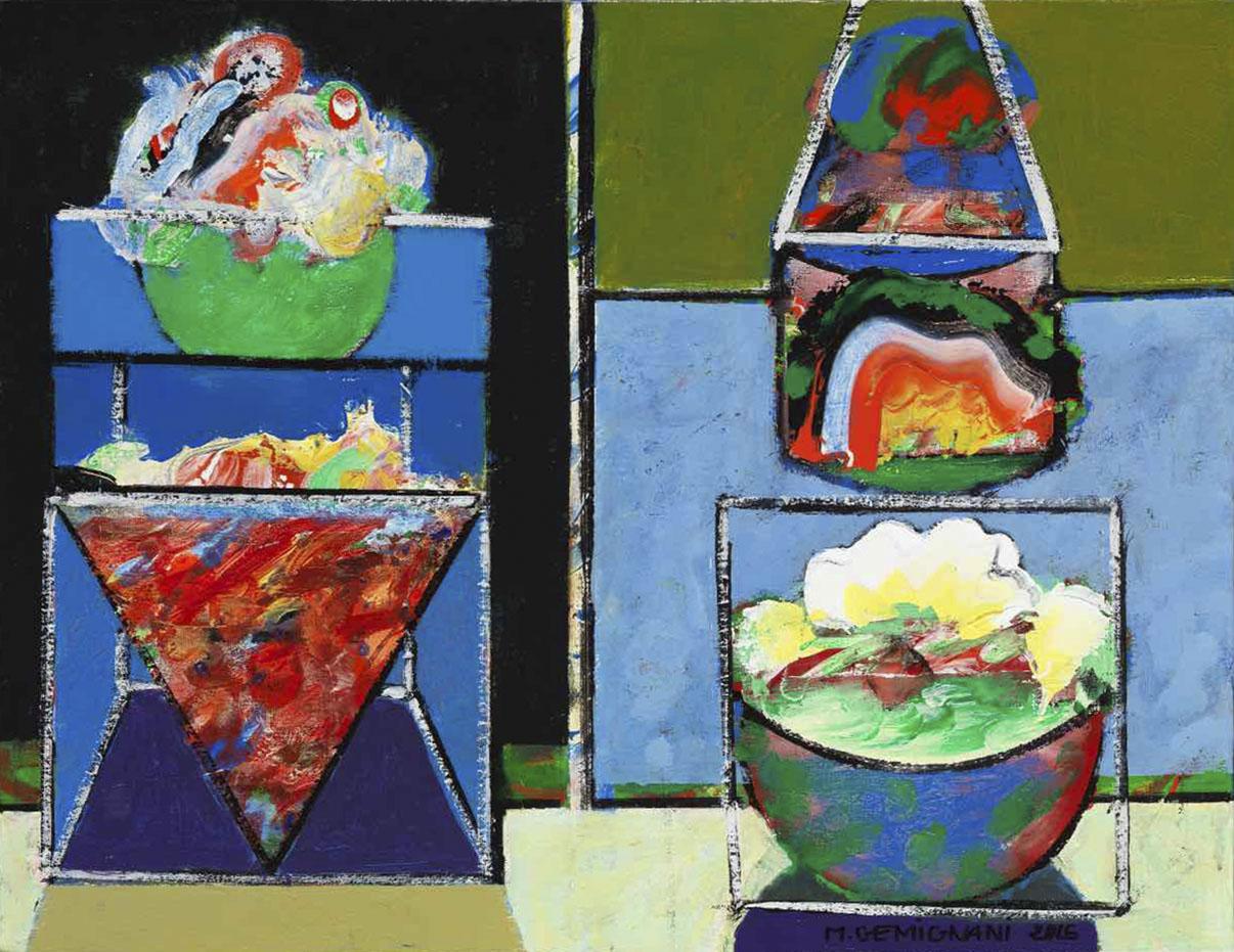 Léche vitrine - 50x65 - 2015