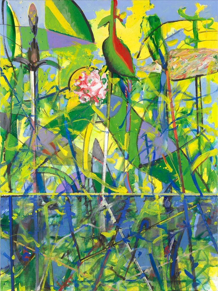 Grani-bego-labia-solia-assez - 2013 - Acrylique sur toile / 132x97 cm