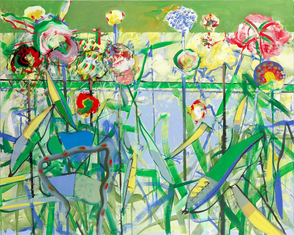 Marais-mouillé - 2013 - Acrylique sur toile / 160x180 cm