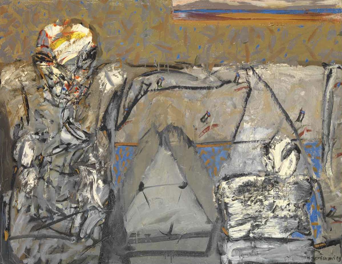 Le bichon d'Arcinte - 90x116 - 1993