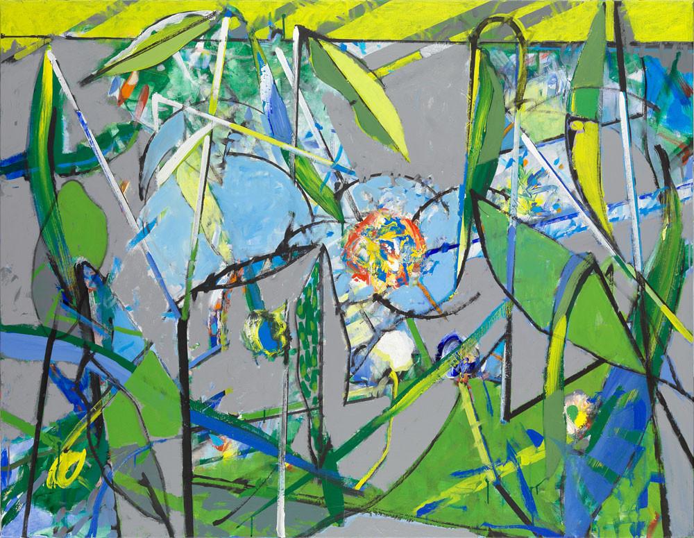 Marais Poitevin #2 - 2013 - Acrylique sur toile / 114x146 cm