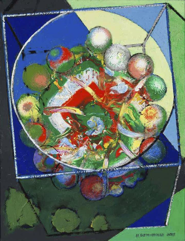 Cercle et carré - 65x50 - 2015