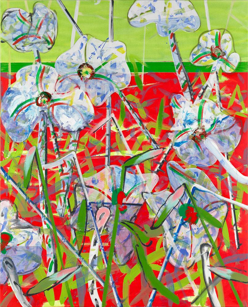 La mare au Diable - 2013 - Acrylique sur toile / 180x160 cm