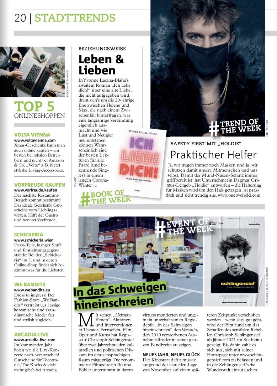 Wiener Bezirksblatt | 21st of December 2020