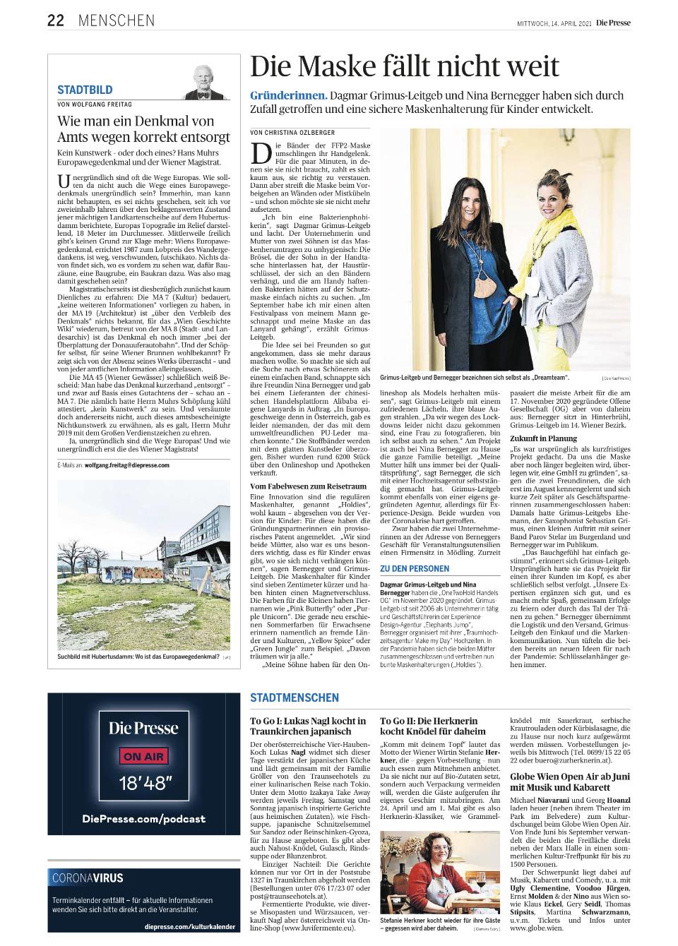 Die Presse | 14th of April 2021