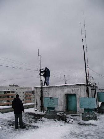 R8RAC установка ЕН-антенны