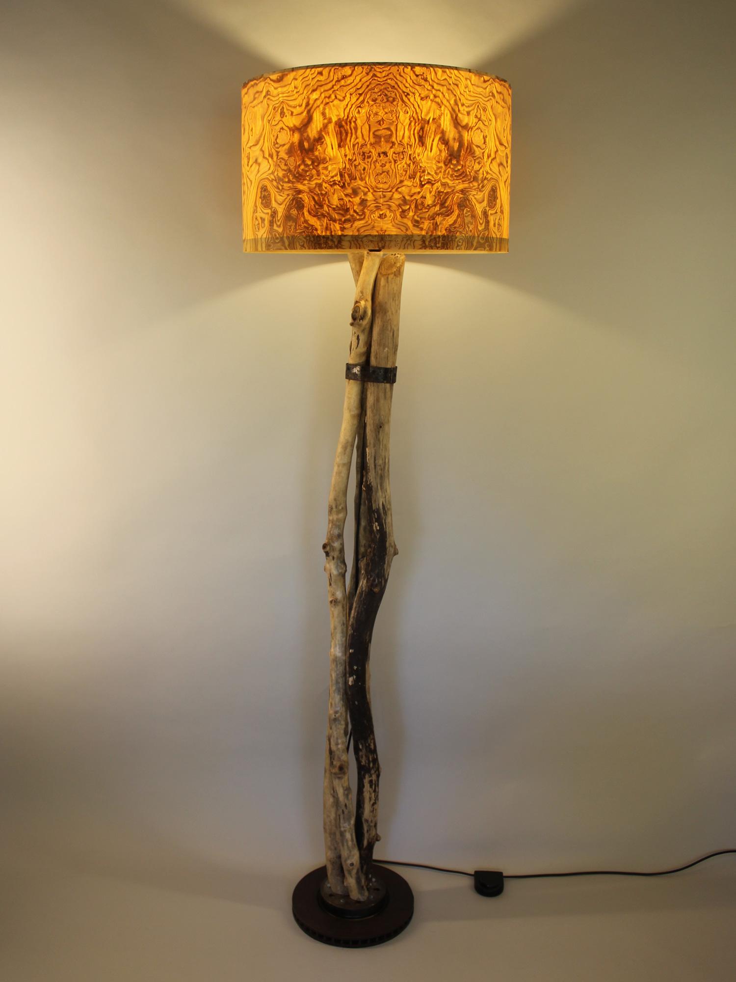 Upcycling Stehlampe Rami II