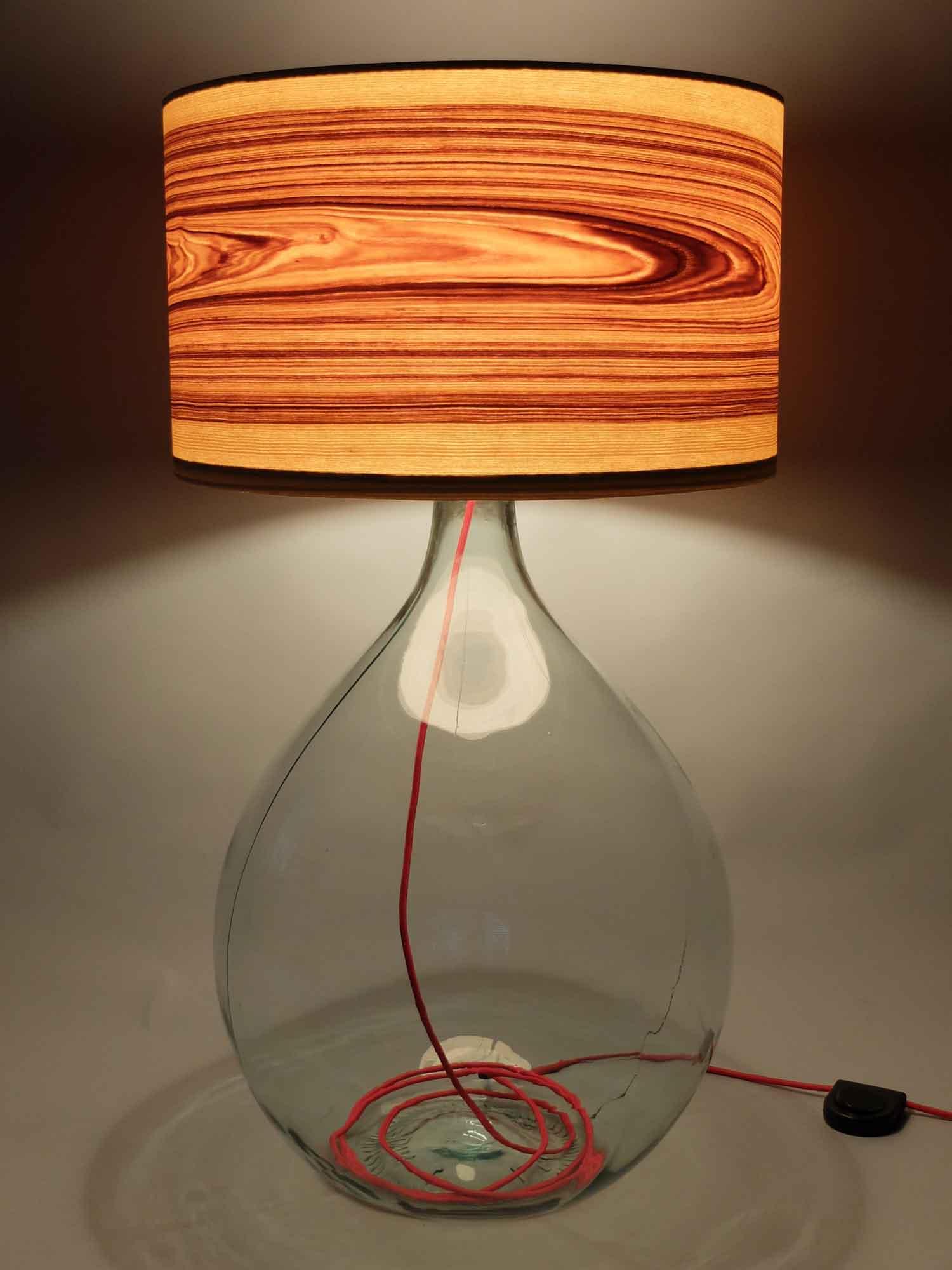 Upcycling Stehlampe Boletus