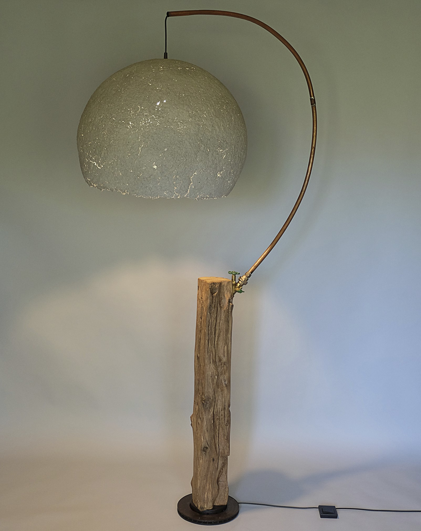 Upcycling Stehlampe Astrum I