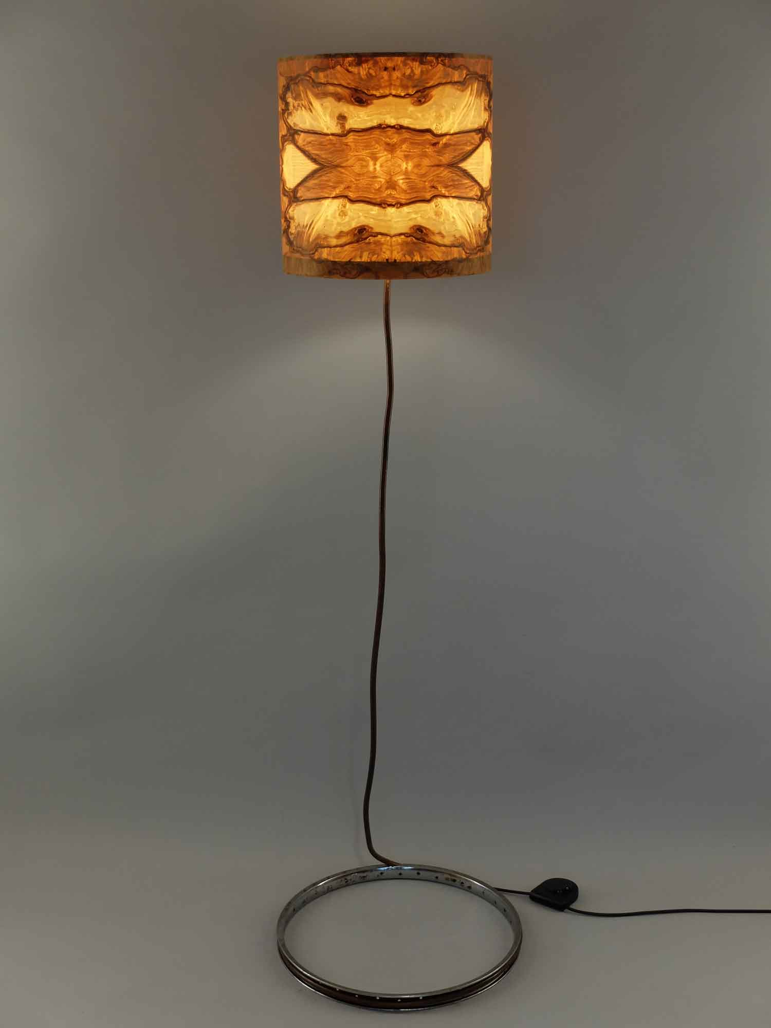 Upcycling Stehlampe Serpens
