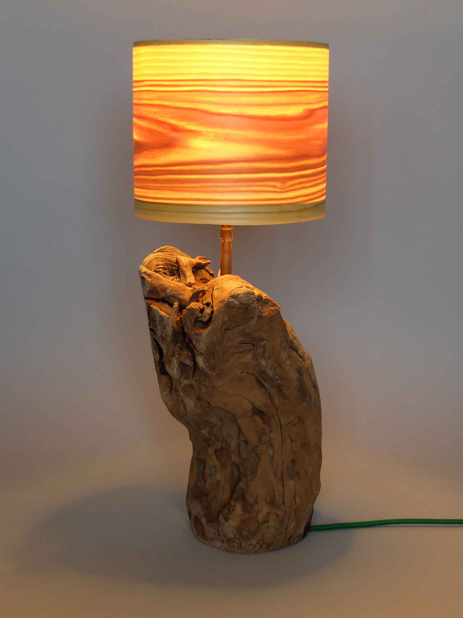 Upcycling Tischlampe Talpa