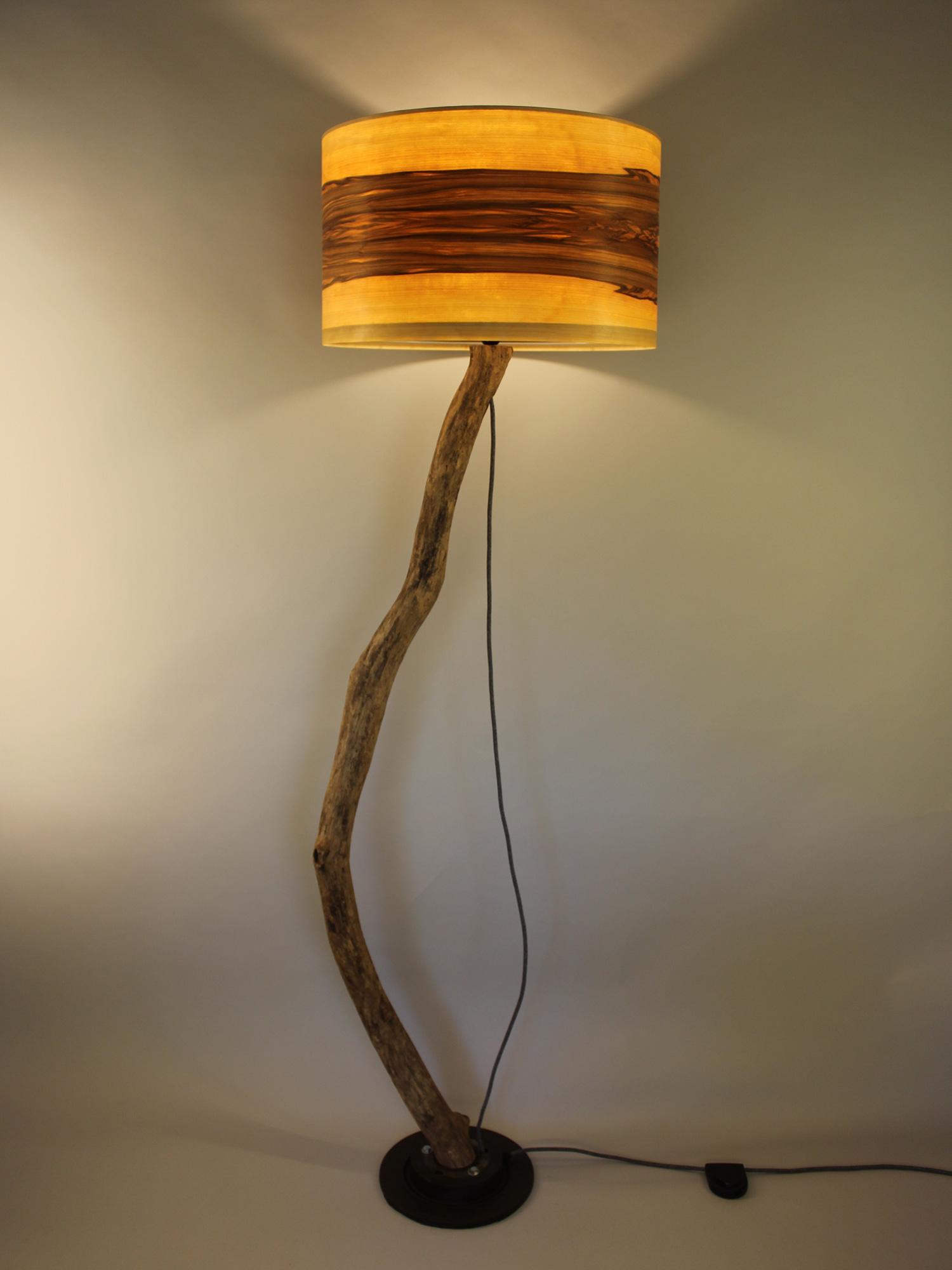 Upcycling Stehlampe Fulgur III