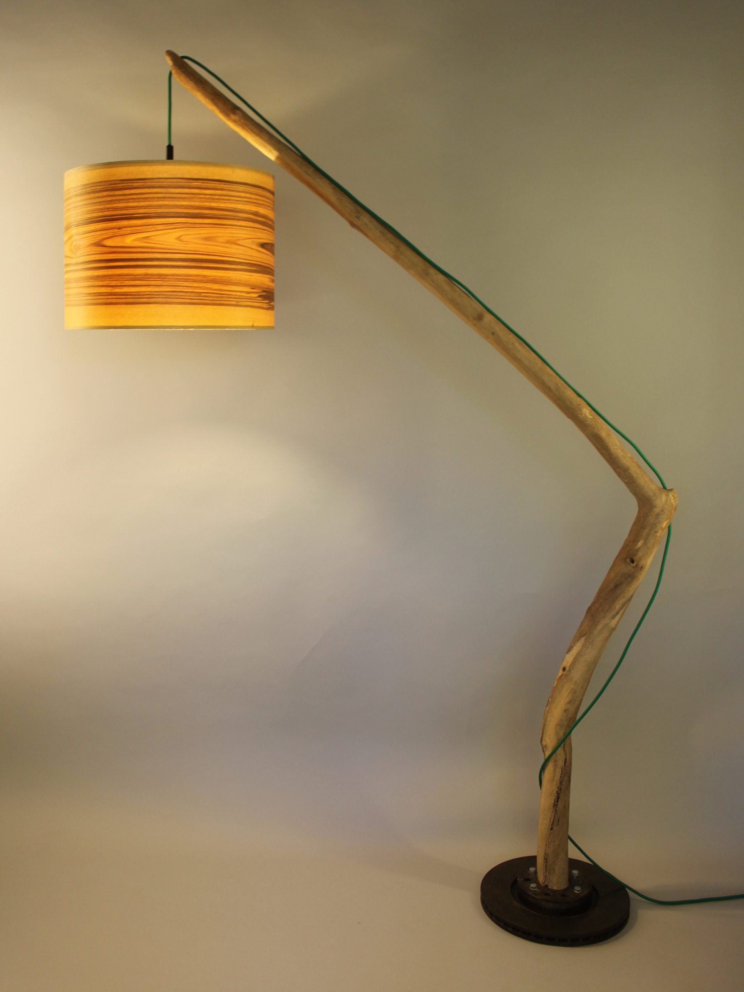 Upcycling Stehlampe Ripam II