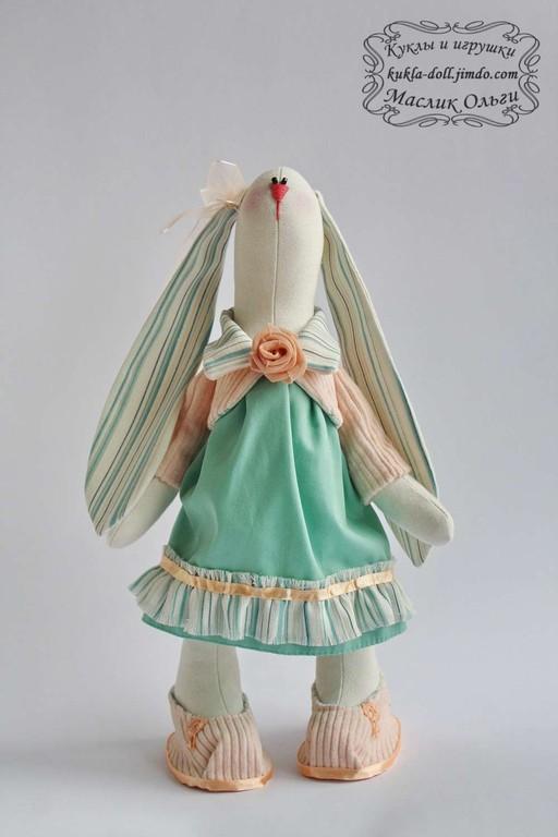 Игрушка. Текстильный заяц