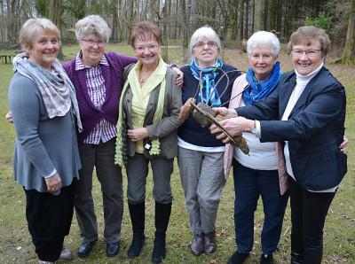 v.l.n.r. Anne Findersen, Greta Bruhn ,Sieglinde Hartmann, Annemarie Jessen, Eva Mertens, Gerda Behrendonk