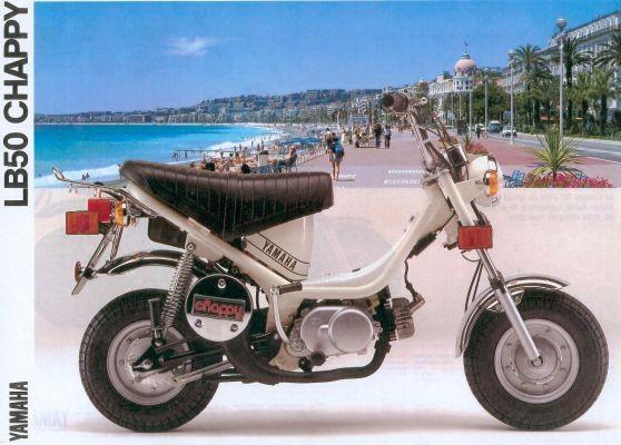 Le Chappy est né en 1973 : un petit deux-roues unique en son genre qui procure un réel plaisir de conduire.
