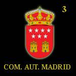 Comunidad Autónoma de Madrid 3.