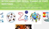 El blog de Perla. Su colección se centra en pins de la Expo 2008 de Zaragoza y heráldicos.