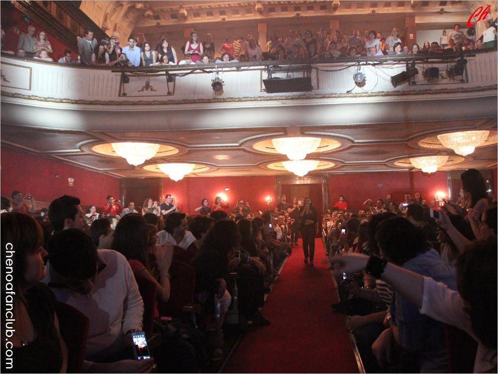 Concierto en Madrid 24/05/2013 Foto Celia de la Vega