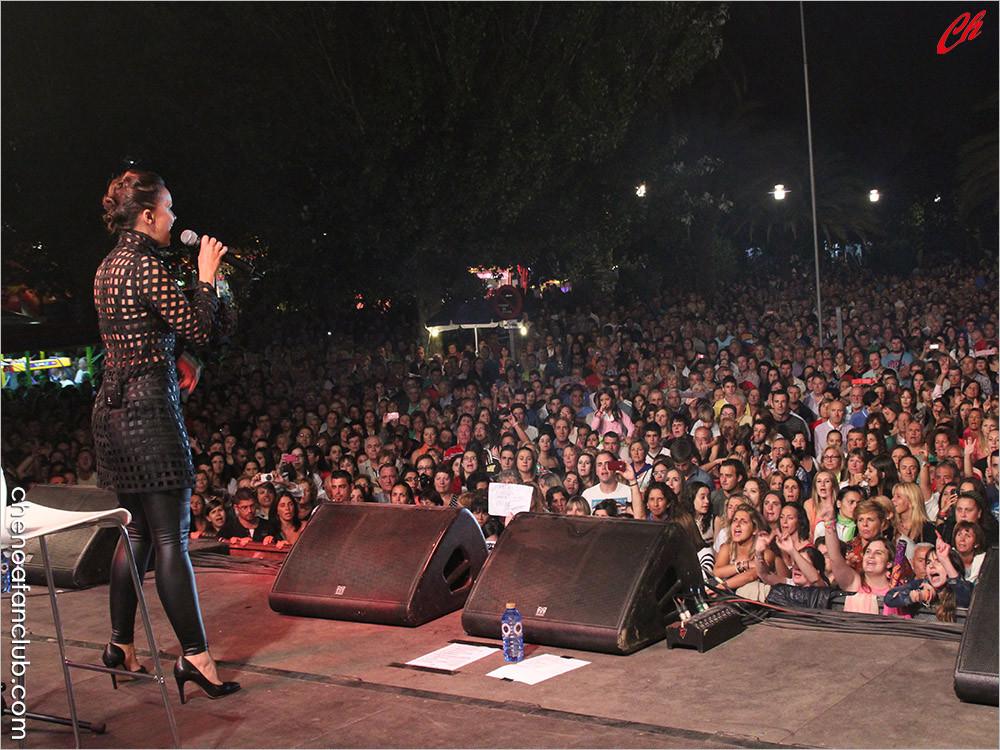 Concierto Cangas (Pontevedra) 26/08/13 Foto Celia de la Vega