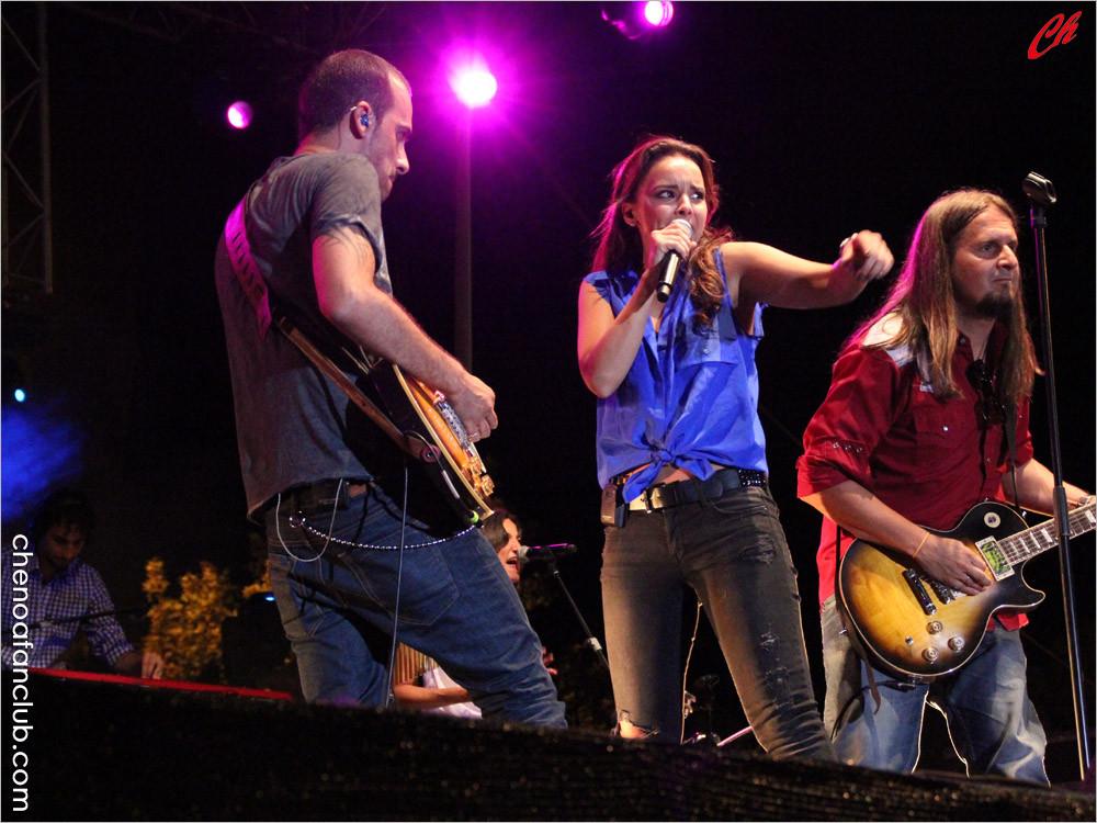 Concierto Fuenlabrada (Madrid) 26/07/13 Foto Celia de la Vega