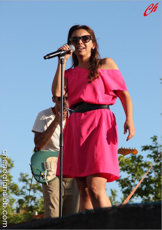Ensayos Concierto Fuenlabrada (Madrid) 26/07/13 Foto Celia de la Vega