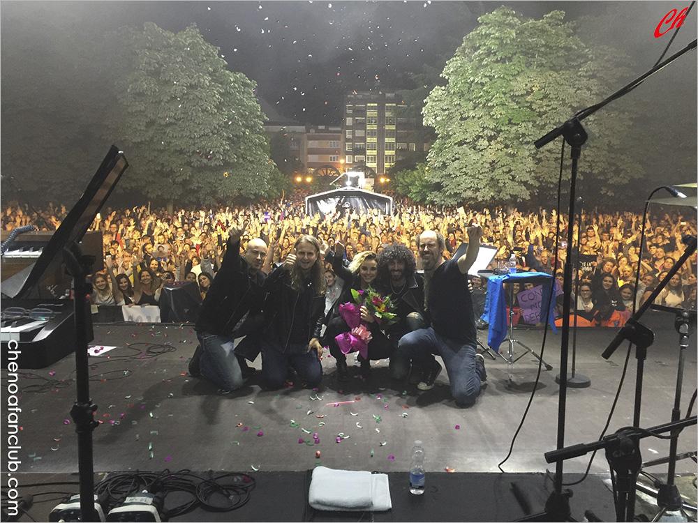 Concierto de Mieres (Asturias) 23/06/2017 - Fotos Celia de la Vega