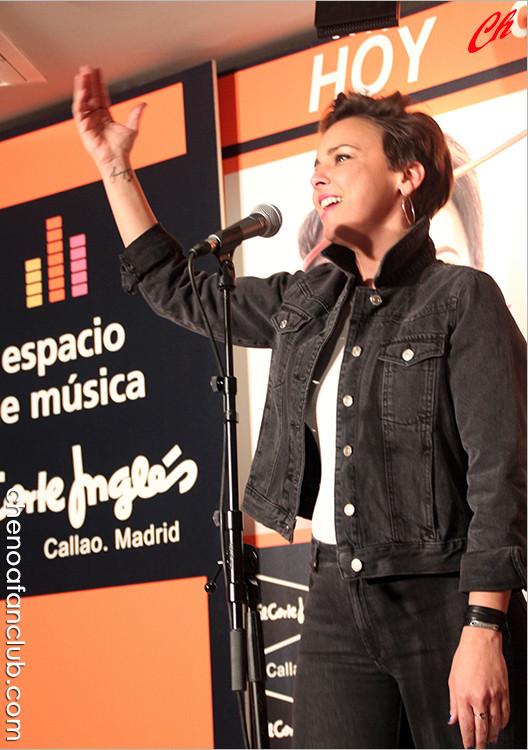 Firma de Discos #SoyHumana - ECI Callao (Madrid) 01/04/2016 Fotos Celia de la Vega