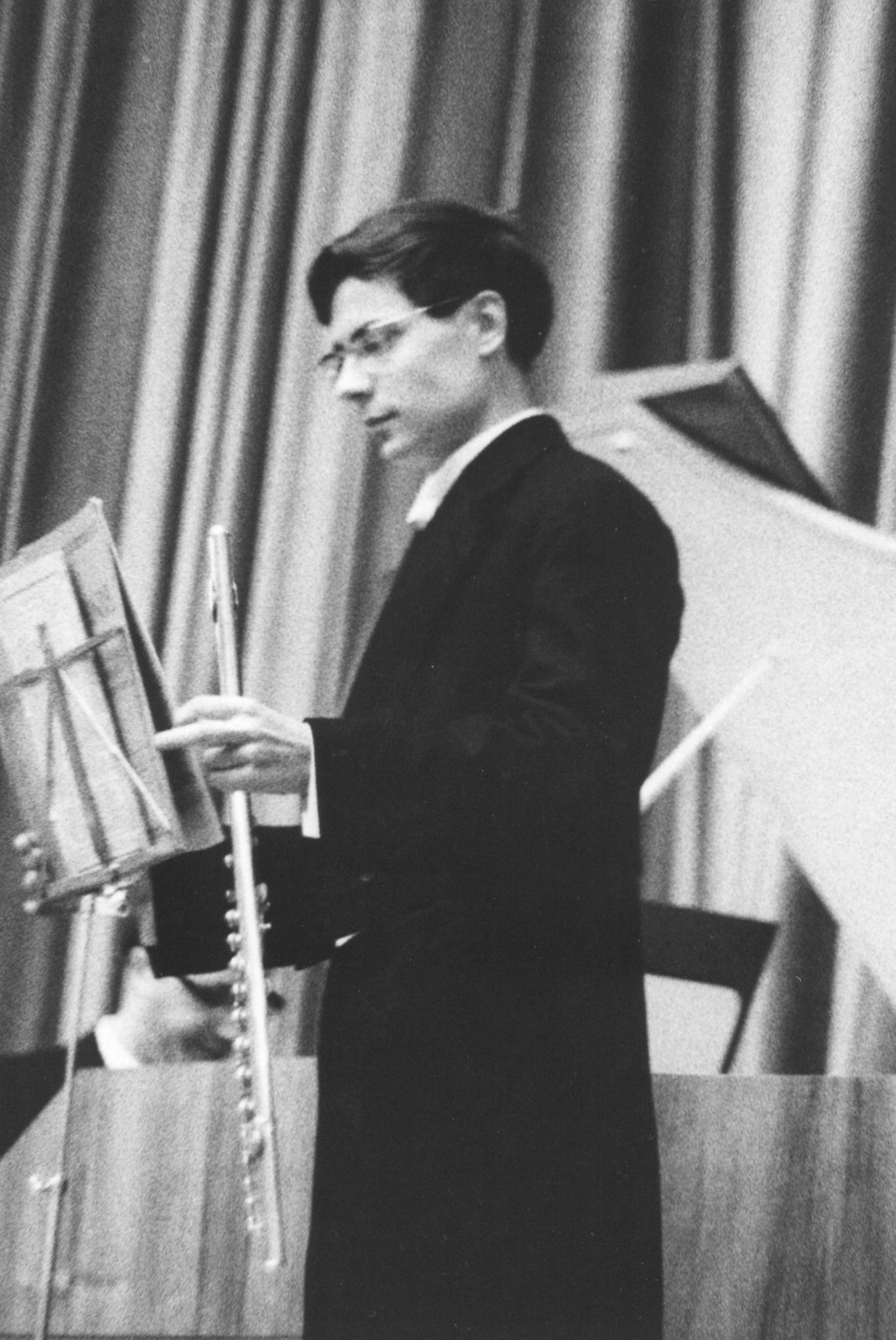 Theatersaal der Universität Bonn, 10. Juli 1963:  Georg Friedrich Händel, Sonate a-Moll (Hallenser Sonate Nr. 1)