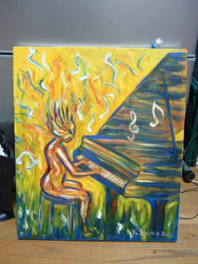 革命を弾くピアニスト