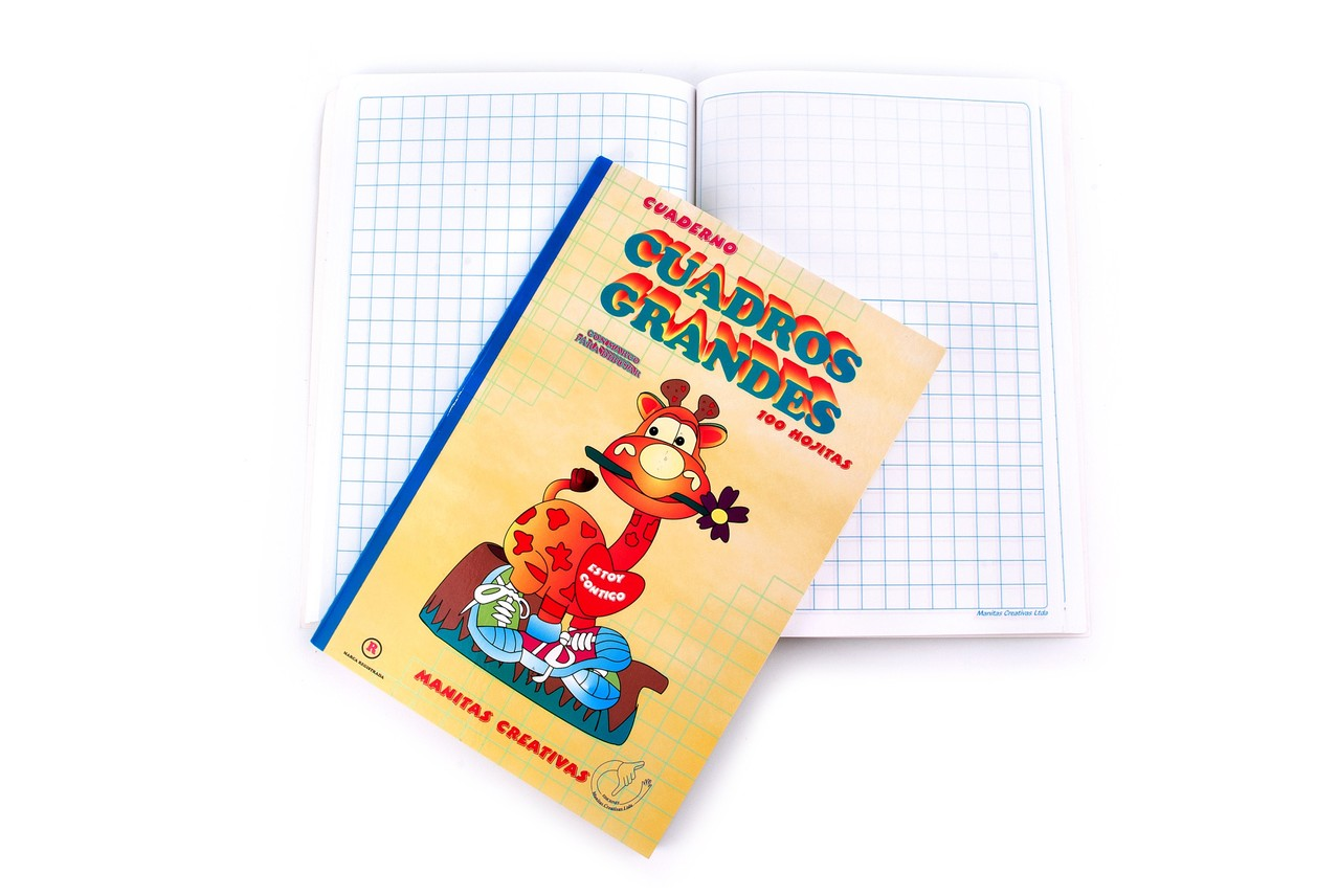 Cuaderno Cuadros Grandes